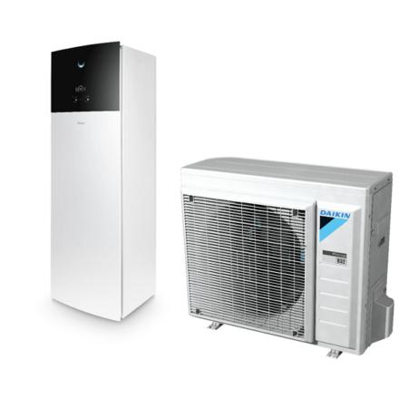 Tepelné čerpadlo vzduch+ voda Altherma 3 RF Daikin (8kW) EHVH08S23D6V + ERGA06DV3A