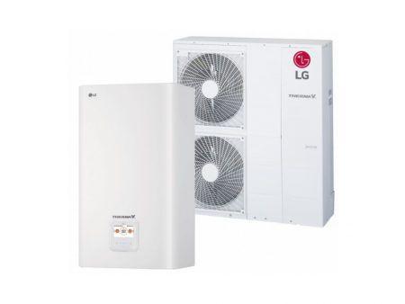 Tepelné čerpadlo vzduch / voda LG THERMA V – Split (16,0 kW) HN1639.NK3 + HU163.U33